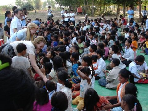 Working With Children in Cambodia